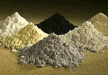 有正常出口渠道,金属块状的稀土产品都是以铁合金名义出,粉末高清图片