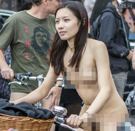 杭州妹子在美国裸骑 脱光衣服裸骑私处都看到了