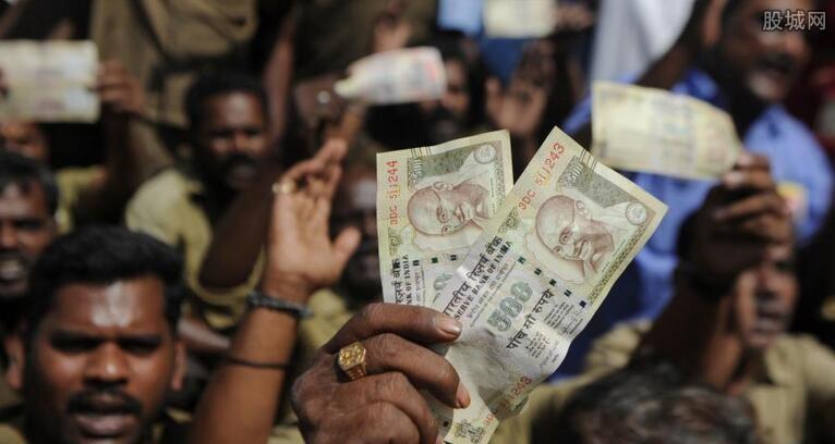 印度卢比回收废钞