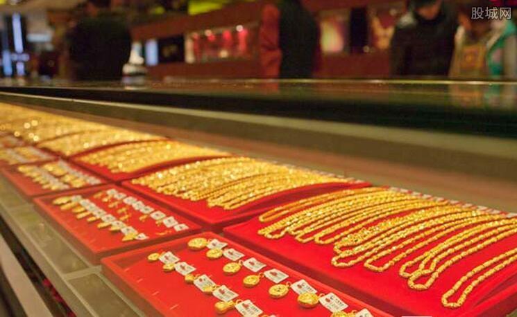 商场实物黄金卖得火