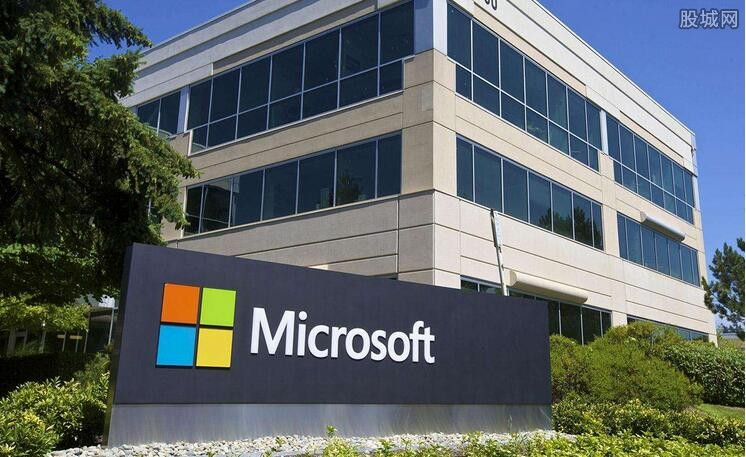 微软市值再度超5000亿美