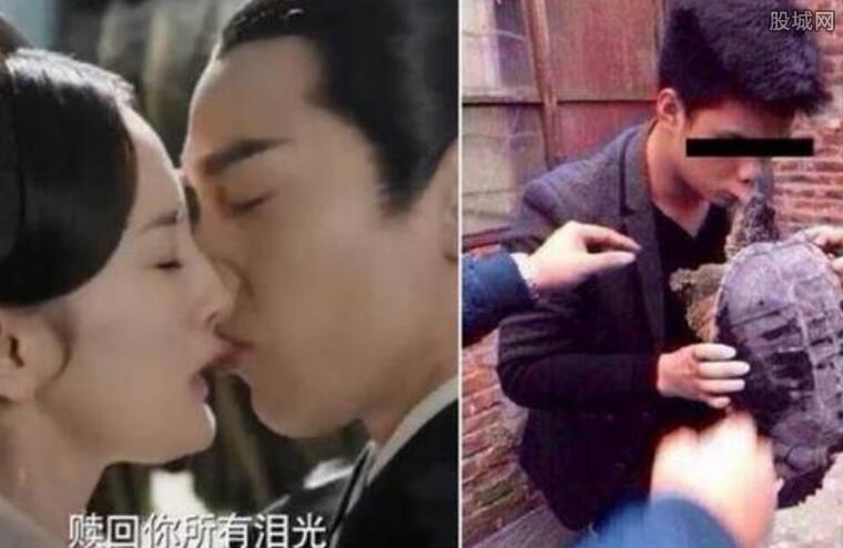 赵又廷咬唇激吻杨幂 两人忘我舌吻画面太色情了