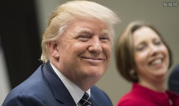 特朗普宣布捐出一季度工资