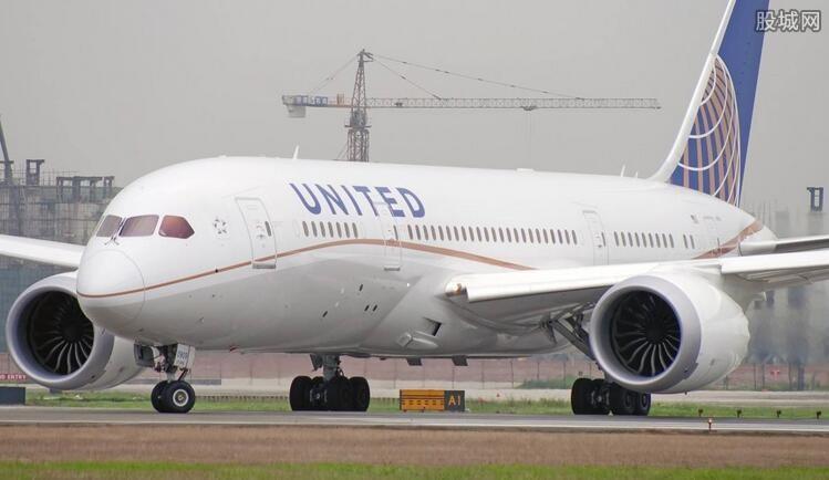 美联航市值蒸发8亿美元