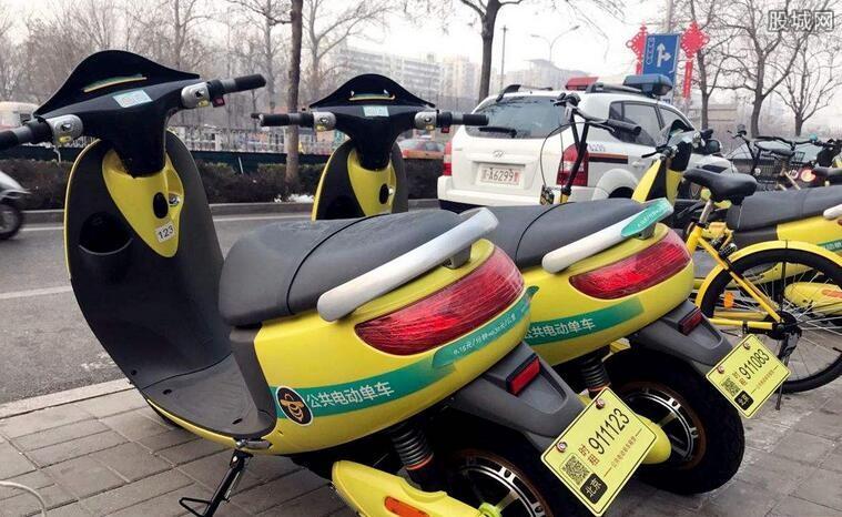 共享电动单车重现街头