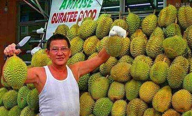 马来西亚榴莲价格暴涨三倍