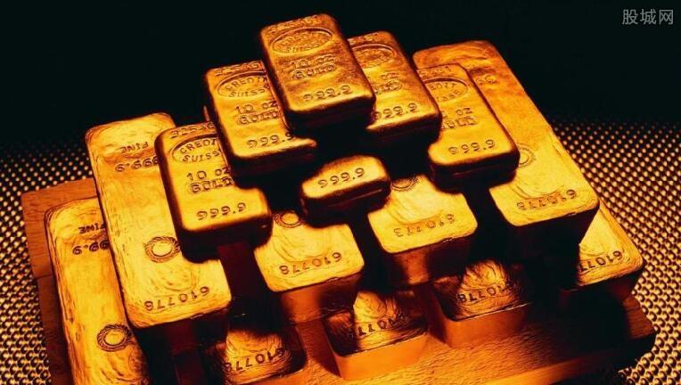 黄金期货走势