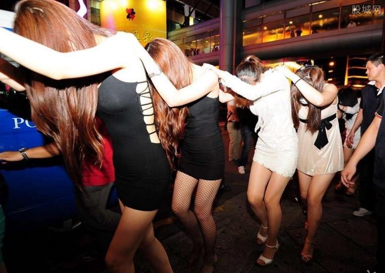 男女组团集体卖淫