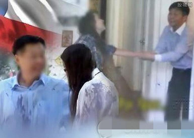 外交官猥亵少女被拍
