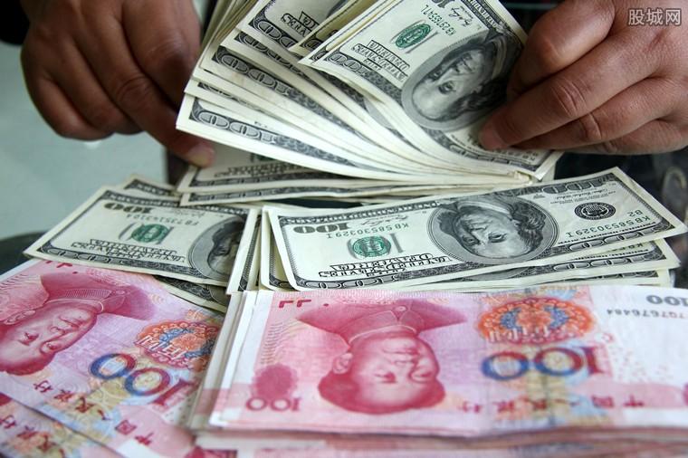 人民币对美元汇率涨逾