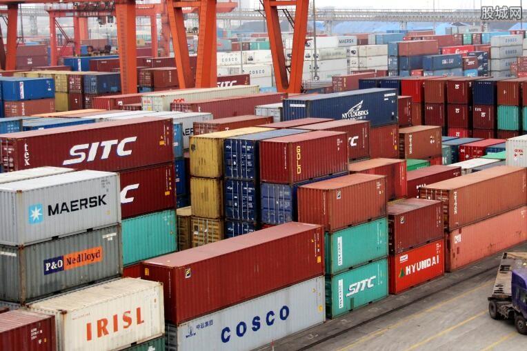 货物贸易进出口总值增长