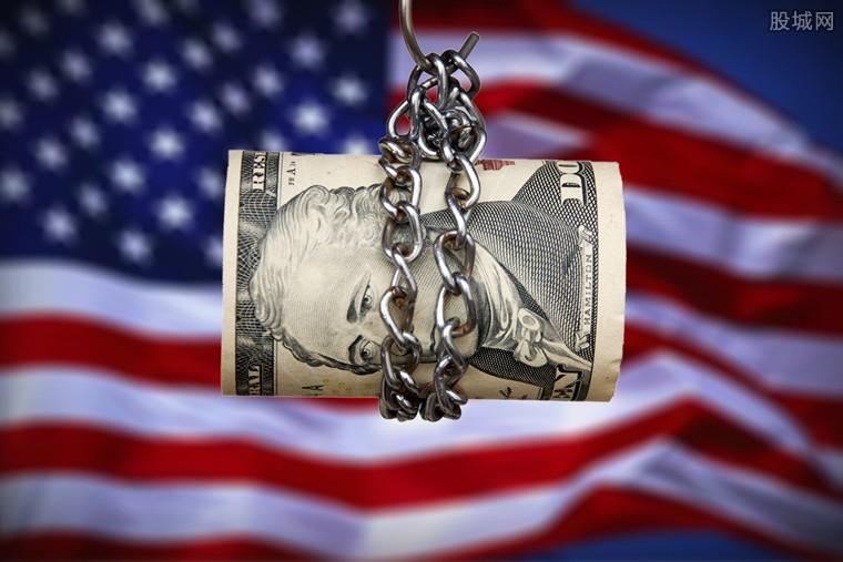 中国减持美国国债规模