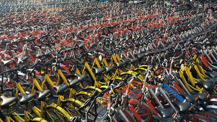 共享单车企业相继倒闭