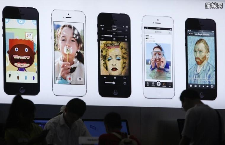 美女600元买新iPhone