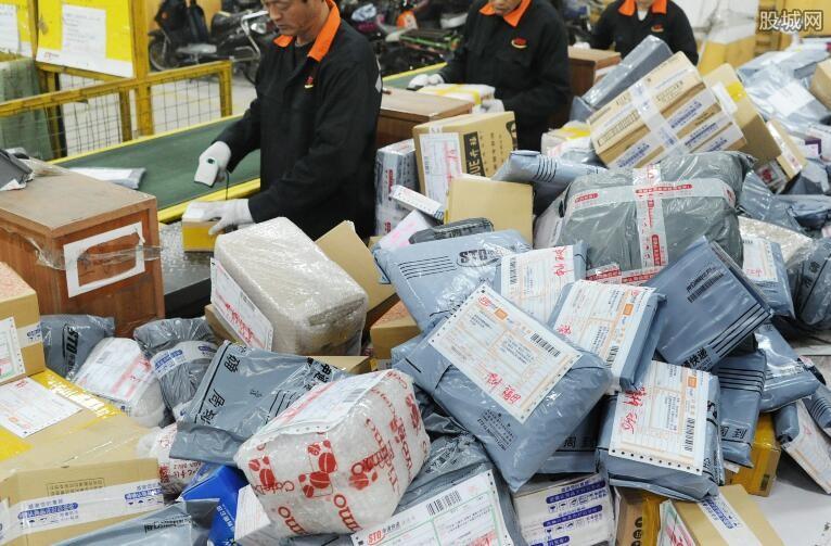 国家邮政监测数据显示
