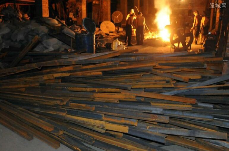 重点钢铁企业钢材