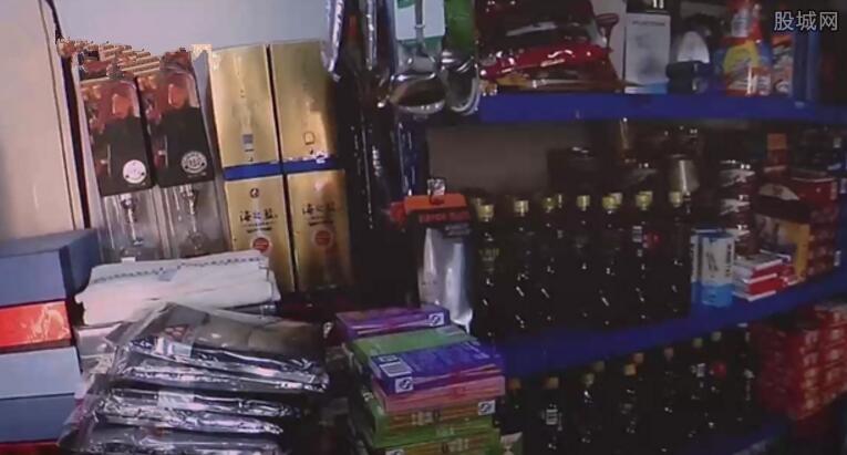 小偷在家开廉价超市