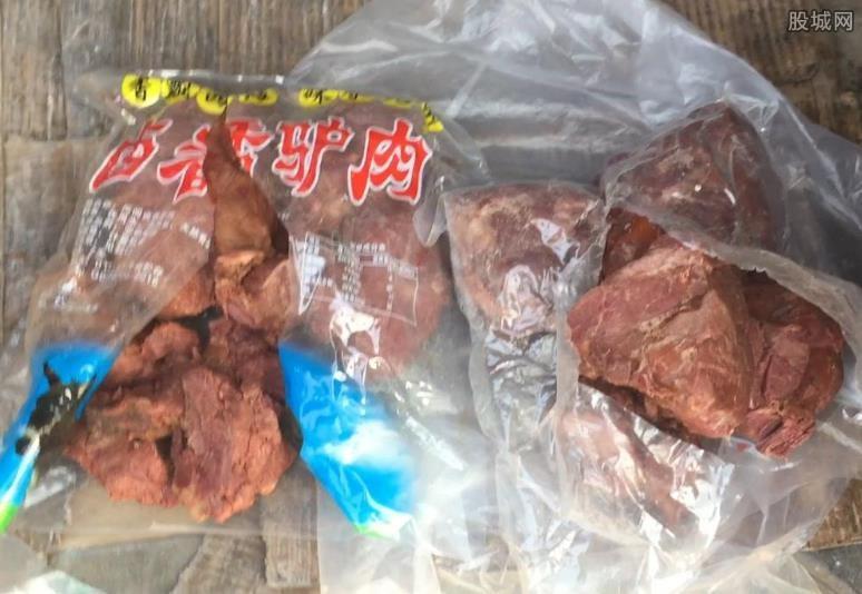 河间驴肉销往北京