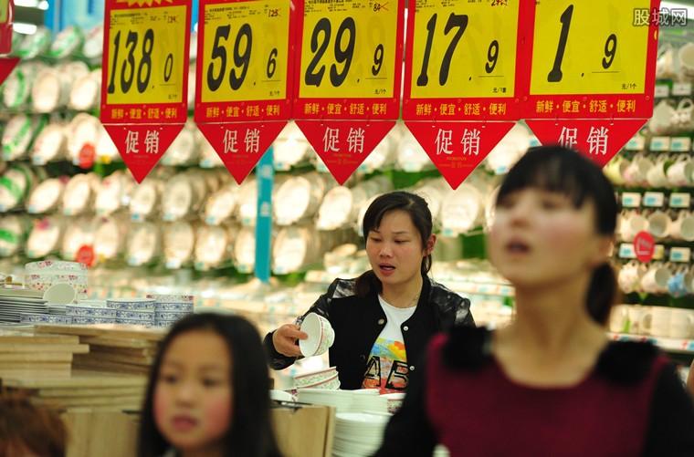 受食品价格上涨带动