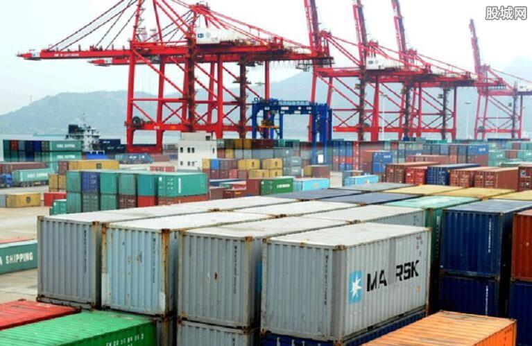 我国货物贸易出口总值