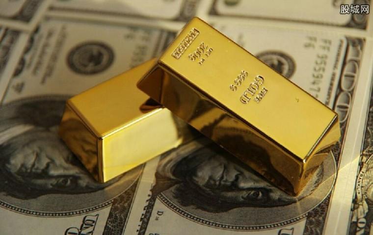 黄金价格下跌
