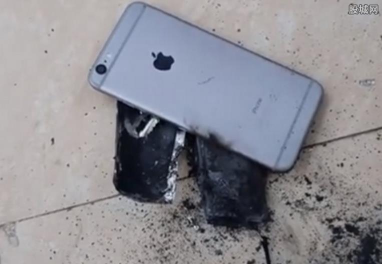 苹果6S起火爆炸