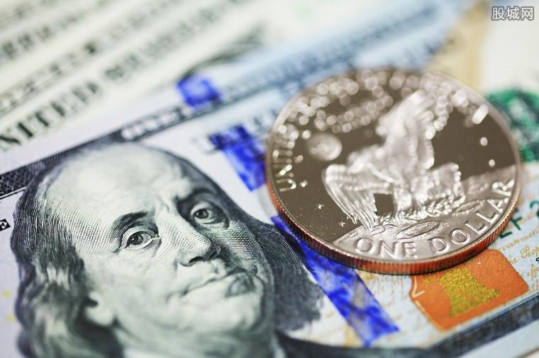 美元指数触及一周高位
