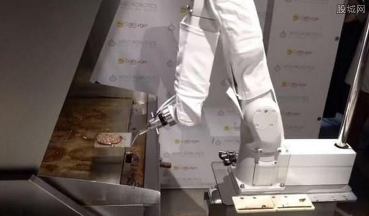 机器人做汉堡