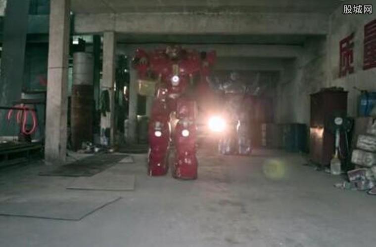 自己制造机器人售卖