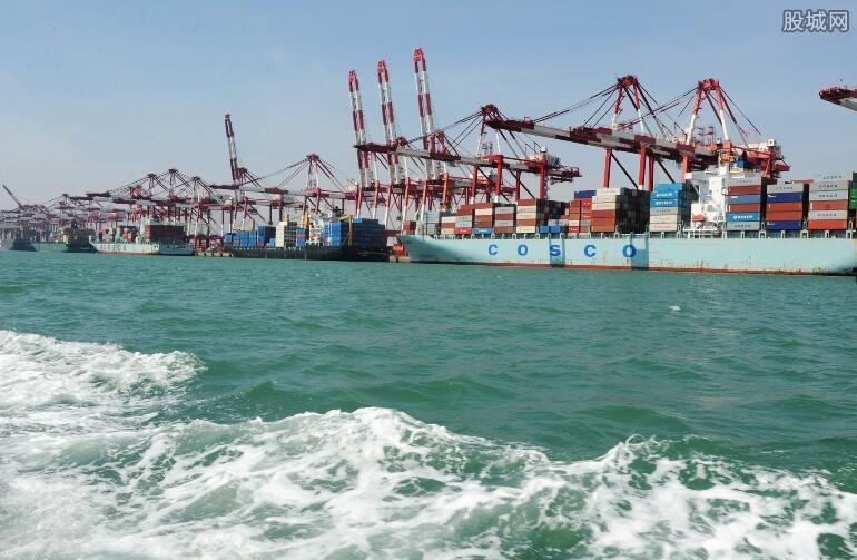 海洋贸易额持续增加