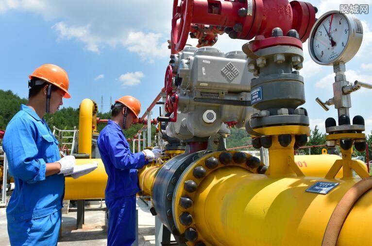 天然气产供储销体系