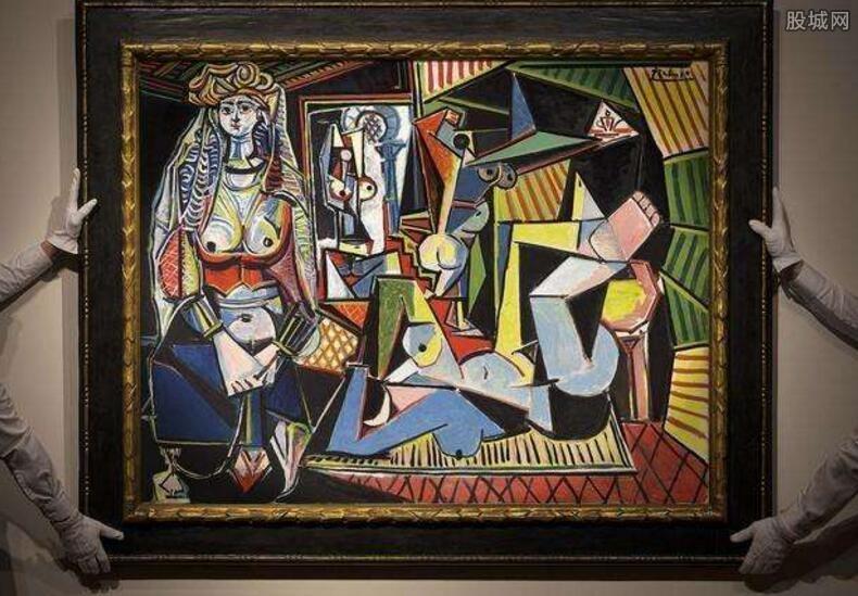 毕加索创作出的画作