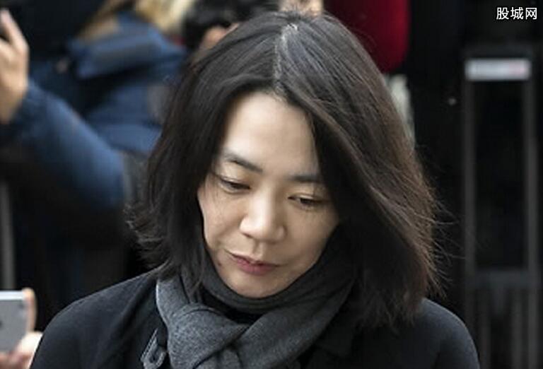 大韩航空高管赵显娥