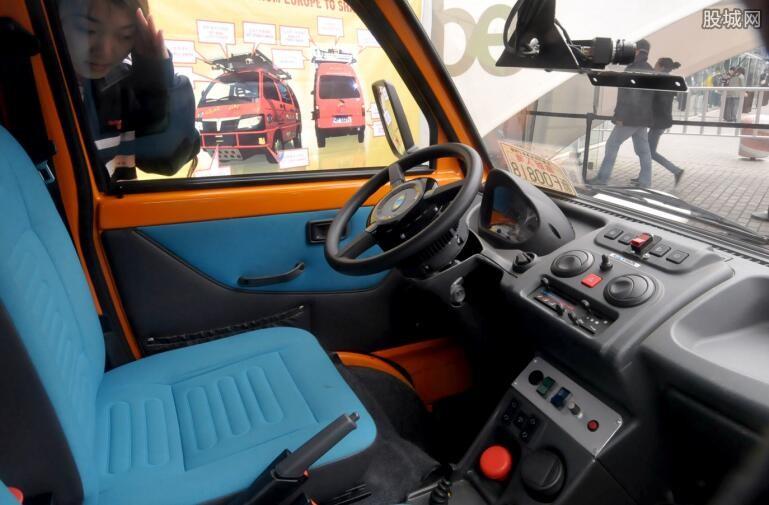 无人驾驶电动卡车试营
