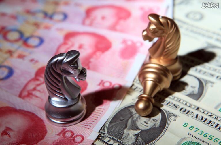 人民币对美元汇率下调