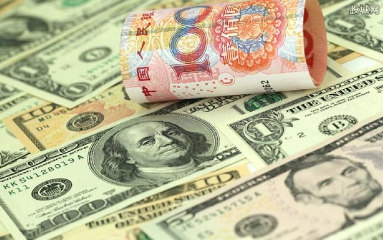 人民币兑美元中间价