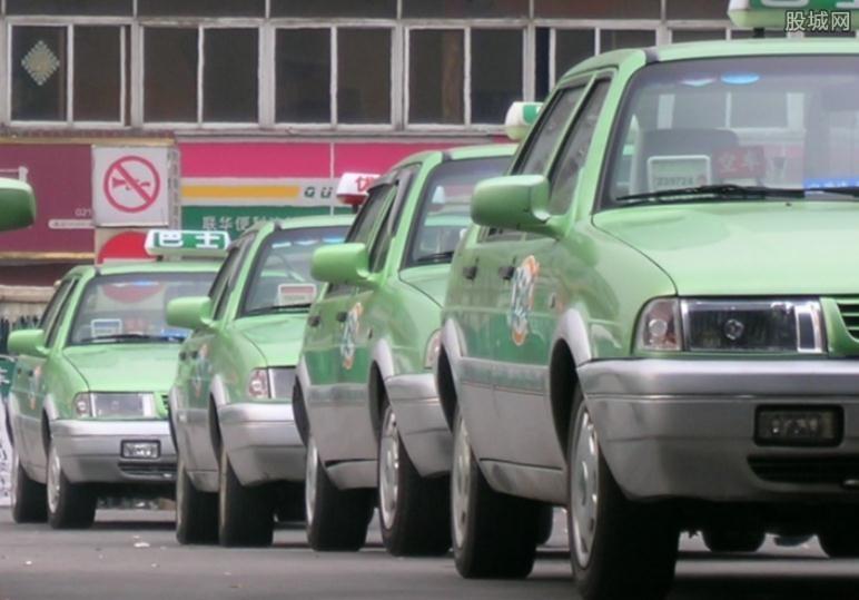 上海出租车行业走下坡路