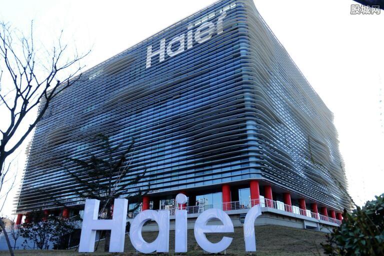 海尔生产线上的产品