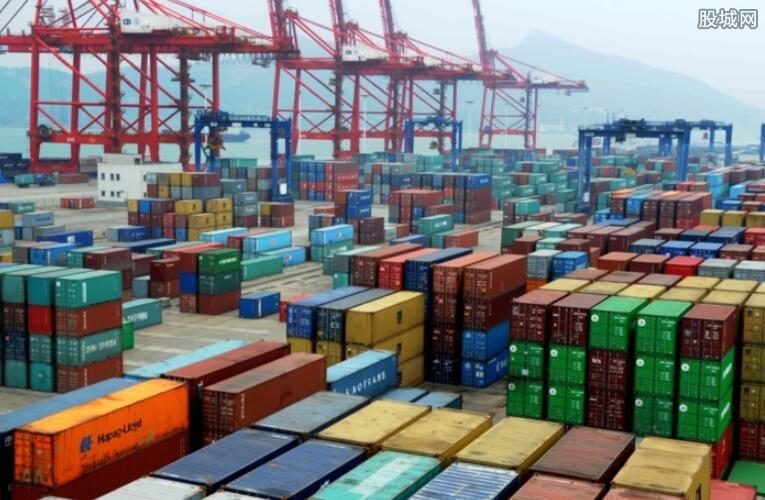 进出口贸易额增长率