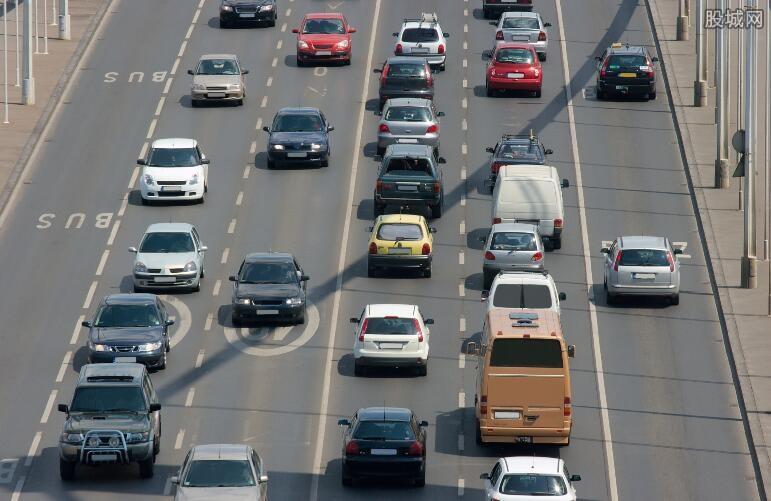 公路货运效率指数水平