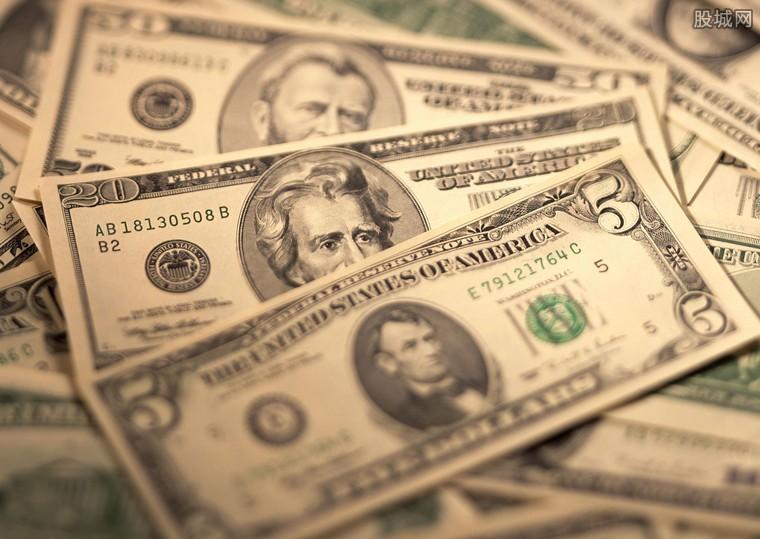 美元指数快速拉升