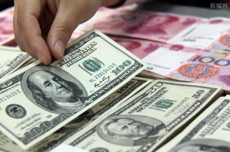 美元对人民币汇率最新消息