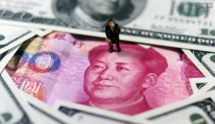 美元对人民币最新汇率走势