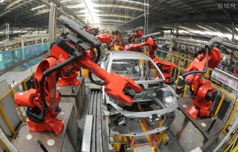 制造业增长6.1%