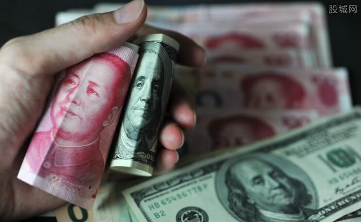 美元对人民币汇率走势图
