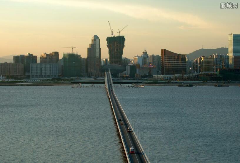 珠港澳大桥开通