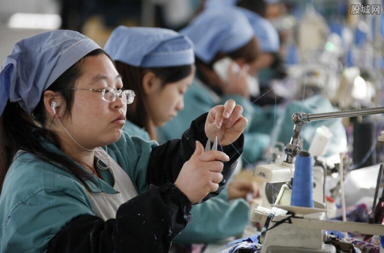 中国制造业产出小幅增长