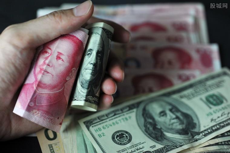 离岸人民币汇率下跌