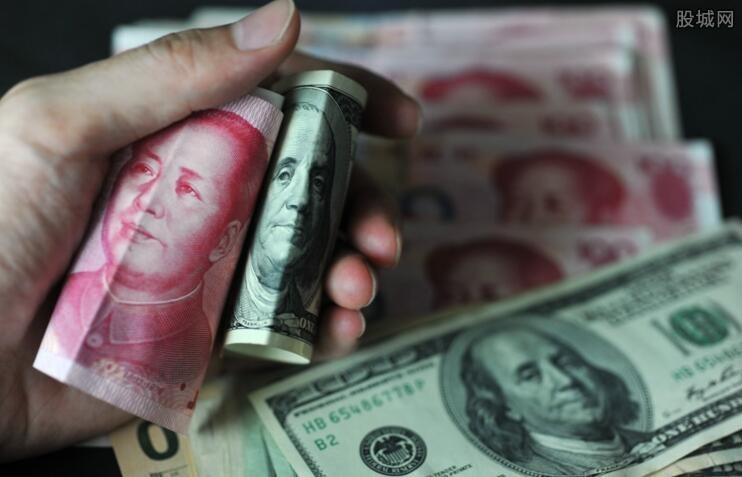 美元对人民币汇率走势
