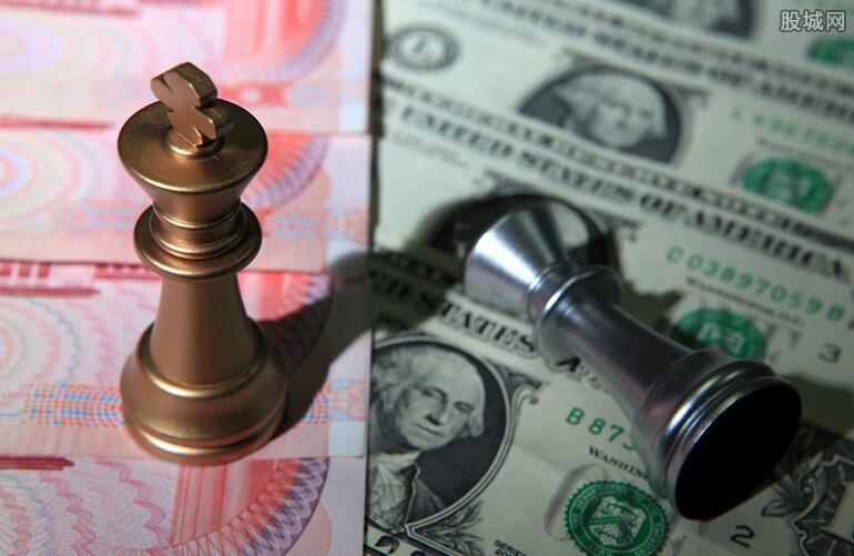人民币中间价大幅调升